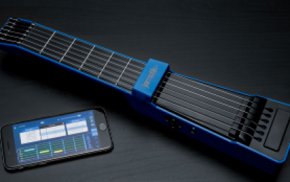 JamStick+ : la véritable guitare digitale